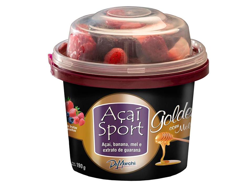 Imagem de Açaí Sport Golden com Frutas Vermelhas Congelado Potinho 190g