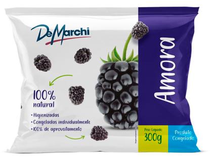 Imagem de IQF  Fruta Amora PCT com 300g