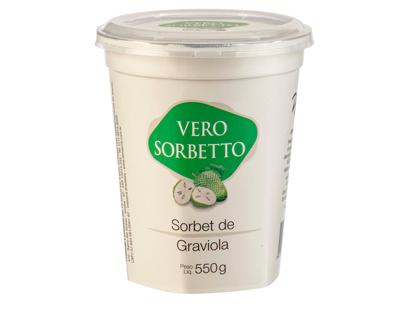 Imagem de Vero Sorbetto de Graviola Pote 550g/500ml