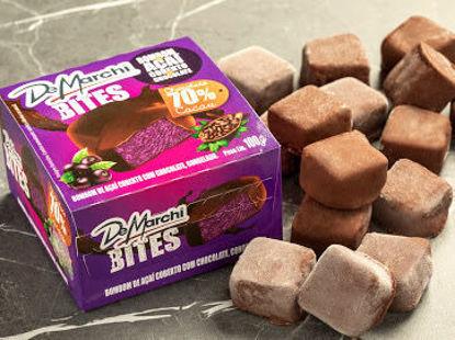 Imagem de Bombom de Açaí Congelado com Chocolate 70% Caixinha 100g