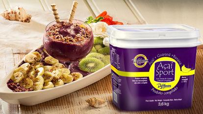 Imagem de Açaí Sport com Banana Congelado Pote 3,6 kg