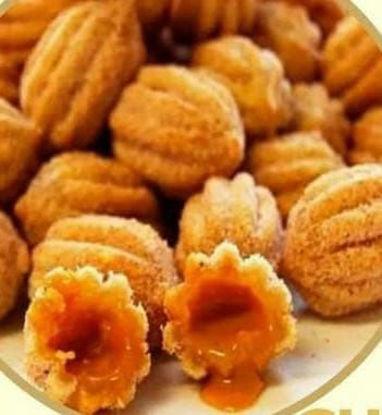 Imagem de Mini churros de doce de leite.